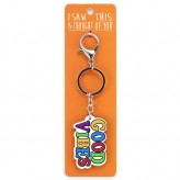 Good Vibes - I Saw This Keyring