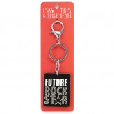 Future Rock Star - I Saw This Keyring