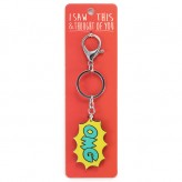 OMG - I Saw This Keyring