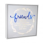 Friends - Large Square Light Box
