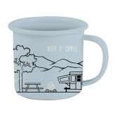 Keep It Simple - Enamel Mug LTD