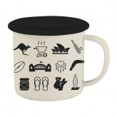 Australiana - Enamel Mug LTD