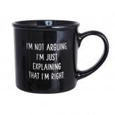 I'm Right Mega Mug