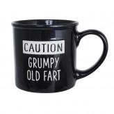 Caution Mega Mug