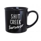 Shit Creek Mega Mug