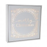 Merry Christmas - Large Square Light Box