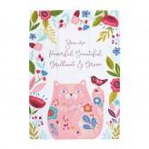 Kitten Garden-Essa Collective Tea Towel