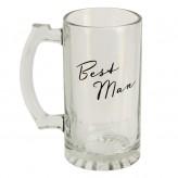 Best Man Glass Tankard - Amore WG323