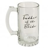 Father of Bride Glass Tankard-AmoreWG325