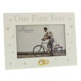 Our First Year Frame 4 x 6 Amore WG586