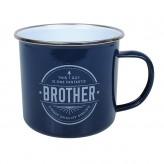 Brother - Enamel Mug