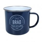 Brad - Enamel Mug