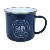 Gary - Enamel Mug