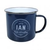 Ian - Enamel Mug