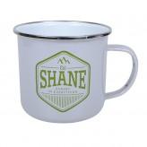 Shane - Enamel Mug