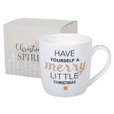 Christmas Spirit Mugs - Have Yourself