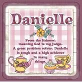 Danielle - Cuppa Coaster