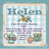 Helen - Cuppa Coaster