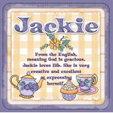 Jackie - Cuppa Coaster