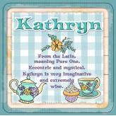 Kathryn - Cuppa Coaster
