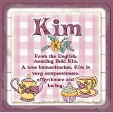 Kim - Cuppa Coaster