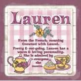 Lauren - Cuppa Coaster