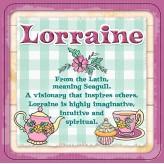 Lorraine - Cuppa Coaster