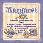 Margaret - Cuppa Coaster