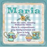 Maria - Cuppa Coaster