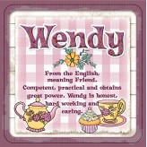 Wendy - Cuppa Coaster