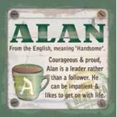 Alan - Cuppa Coaster