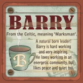 Barry - Cuppa Coaster
