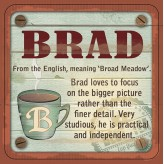 Brad - Cuppa Coaster