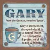 Gary - Cuppa Coaster