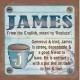 James - Cuppa Coaster