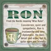Ron - Cuppa Coaster