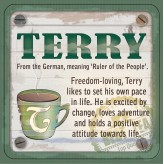 Terry - Cuppa Coaster
