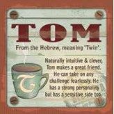 Tom - Cuppa Coaster
