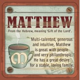 Matthew - Cuppa Coaster