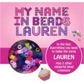 Lauren - Name Beads