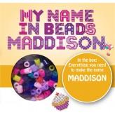 Maddison - Name Beads