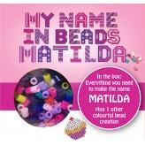 Matilda - Name Beads