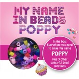 Poppy - Name Beads