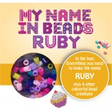 Ruby - Name Beads