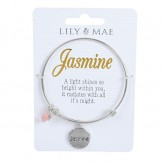 Jasmine - Personalised Bangle