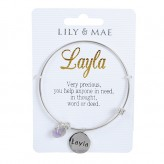 Layla - Personalised Bangle