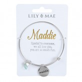 Maddie - Personalised Bangle