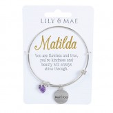 Matilda - Personalised Bangle