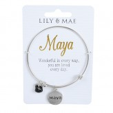 Maya - Personalised Bangle