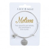 Melissa - Personalised Bangle
